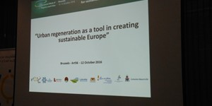 12 October 2016 - Urban regeneration as a tool in creating sustainable Europe - 9545